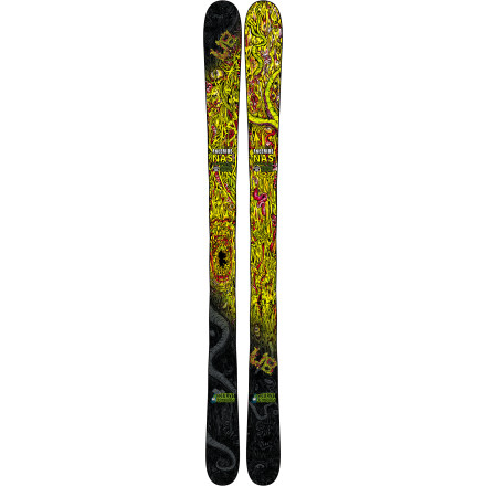 Ski When you look up at the hill, your eyes see nothing but a giant playground. Good thing the Lib Tech Freeride NAS reCurve Ski shares your live-for-fun personality. The Magne-Traction serrated sidecut butchers the hardpack with precision while the reCurve rocker keeps these boards on top of the snow where they belong. Although the topsheet graphics are certain to cause your grandma concern, they will do nothing but inspire monstrous cliff hucks in your free-spirited mind. - $454.97
