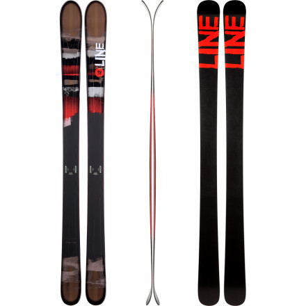 Ski Make no mistake, the Line Prophet 98 Ski is a west coast in-bounds shredder and an east coast all-mountain ride that will end your concerns about going wider than 90mm underfoot. A little early rise keeps the tip afloat on the deep days, the metal-reinforced wood core is well mannered at speed or in the chop, and a generous, multi-radius sidecut shape lays trenches when groomer days are the only option. Line made this fat beauty feel skinny in all the right places. - $487.46