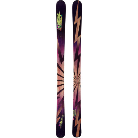 Ski The Nordica Enforcer Ti Ski doesn't think twice about changing snow conditions and terrain, thanks to its do-it-all dimensions. Its Early-Rise profile easily maneuvers through and over soft snow, crud, and foot-deep powder, while its camber underfoot provides the stability to lay down the law on groomers, hardpack, and bumped-up bowl fields. - $524.21