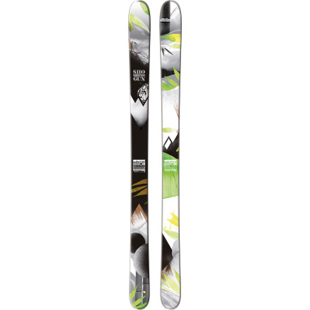 Ski The Salomon Shogun 100 Ski gives you the power to go anywhere, taking on hardpack to powdery mountain conditions. This agile plank surfs those steep pow lines with the same energy and enthusiasm as it tackles freshly groomed trails and thick mogul fields. Thanks to its early rise tail, the Shogun won't skid out when your line spits you out on a groomer track at the bottom, while its All-Terrain Rockered profile allows for exact, precise turn initiation, with less of a chance of catching an edge while you conquer techy terrain. - $359.99