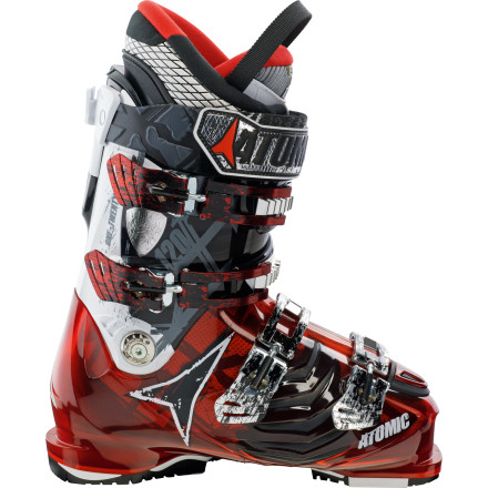 Ski The Atomic Hawx 120 Ski Boot is stiff enough to make mincemeat of any slope, and with its heat-moldable liner and custom fit for medium width, you'll cut with surgeon-like precision. Dig in. - $449.99