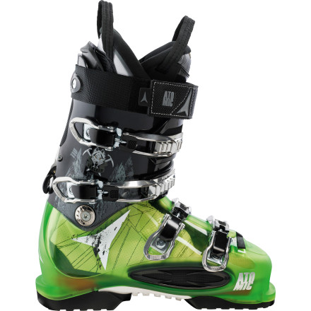 Ski You can go to the resort and fight over scraps left by the dawn patrol, or you can step into your Atomic Tracker 110 Ski Boot and head into the backcountry, where you can experience private dining on luscious untracked snow. The Power Control Release provides a 20-degree range of motion when in touring mode and quickly locks down for uncompromising performance on the descent. Nothing is as satisfying as harvesting your own home-grown turns, and the Tracker 110 is the boot to accomplish just that. - $299.99