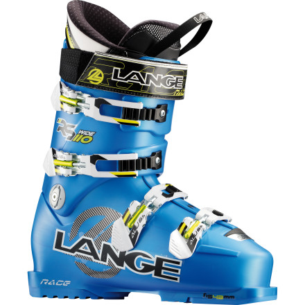 Ski Everything in moderation is your anti-mantra. The Lange RS 110 Ski Boot-Wide is stiff and big in attitude and breadth; it even has an upright, natural stance, in which you will bomb downhill. You also want comfort, in a warm, no-pressure, foot-hugging liner, so your precious energy goes straight to the snow. You've found a boot as bold and broad as you are. - $549.95