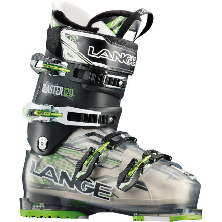Ski All-mountain, all day. In the Lange Super Blaster Ski Boot, you have five-star comfort in a no-nonsense, kick-butt cockpit. With a stiff 120 flex and a melt-to-your-foot liner, you can rip hard, long, and far; with a wide-mouth walk mode and grippy sole, you can give your legs a break. You earned it. - $349.97