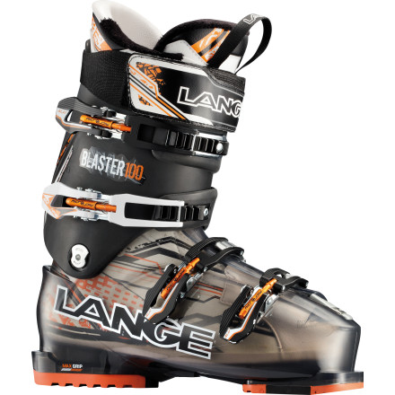 Ski There is a myth circulating that you have to endure pain to get high performance in a boot, and the Lange Blaster Pro Ski Boot is here to bust it. The rip-worthy PU shell and 100 flex combined with a warm, luxurious-fit custom liner and wide-open walk mode debunk that crazy talk. Not only can you shred the whole mountain comfortable and happy, you can kick back when the sun sets and tell everyone you just debunked that rumor. - $314.97