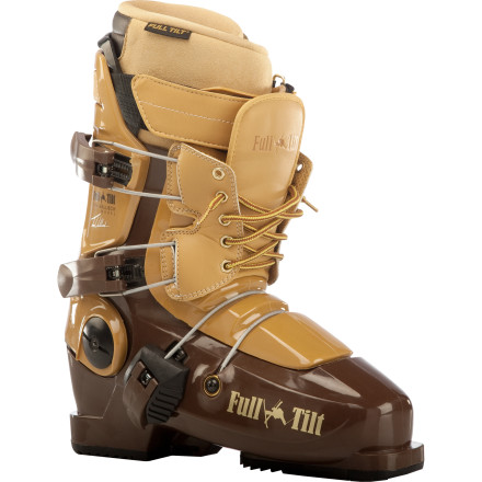 Ski Afterbang like the master in the Full Tilt Tom Wallisch Pro Model Ski Boot, with rubber sole and ribbed tonguefor your pleasure. With its light weight, elastic rebound, and smooth flex, consider your dream threesome realized. - $434.96