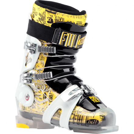 Ski A freestyle-specific model with many of the same features found on the Wallisch Pro model, the Full Tilt Booter Ski Boot affords you wiggle room as you level-up. Liberate yourself from fear of flight, and log serious session time. - $299.96