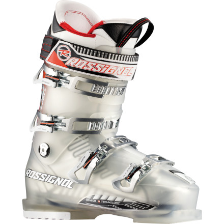 Ski This winter, buckle down into utter comfort with the Rossignol Men's Pursuit Sensor3 110 Ski Boot. Normally you're racing to get down to the lift line to unbuckle your boots, but thanks to the Pursuit's Sensor3 design and Sensor Fit Liner, your battle with painful toes, instep problems, and pressure issues are long gone. Rossignol also equipped this bad boy with a 110 flex index to ensure all-mountain performance while you race your buddies down groomers, navigate steep terrain, or hunt for pow in the trees. - $384.97