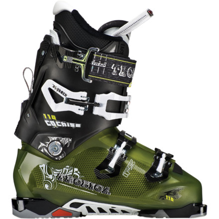 Ski When you're attacking the resort and raiding slack country lines for some extra plunder, strap on the Men's Tecnica Cochise 110 Ski Boot and ensure a high-performance ride while on the warpath. The Mobility Cuff allows you to easily switch between hike and ski modes for easy ups and fast-action downs while the heat-moldable Ultra Fit Pro liner provides a custom fit. - $479.96