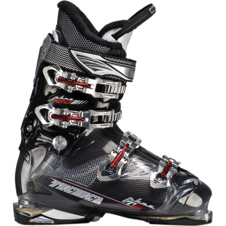 Ski If you would rather crawl in a hole and die than squish your extra-wide feet into another narrow-lasted ski boot, step into the Tecnica Phoenix 120 HVL Ski Boot and rise up from the ashes. The HVL 106mm last is built to perform for advanced and expert skiers with extra-wide foot sizes while the Delta Force System allows the flex and rebound to be adjusted to match specific terrain and rider preference. Finally having a boot that feels and fits the right way is skiing rebirth of the best kind. - $412.46