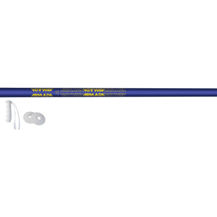 Ski The Armada Triad Ski Pole boasts a lightweight aluminum shaft with a steel tip that can withstand your season shreds. - $25.97