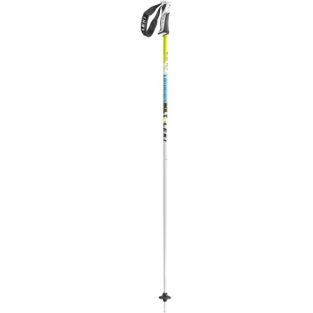 Ski Strike like lightning with the Leki Thunderbolt Ski Pole. With a soft, ergonomic grip and lightweight strength, your pole plants will be precise and effortless. Add to that an upward release system, and you can rip with peace of mind. - $45.47