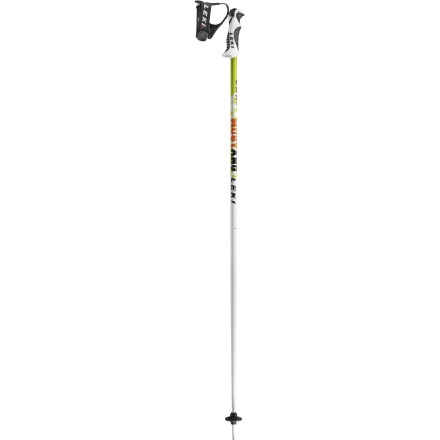 Ski Like the swift, strong horse, the Leki Mustang Ski Pole has lightweight speed and burly aluminum backbone. It also has a releasable grip system for peace of mind and safe shredding. The horse can't say that. - $69.97