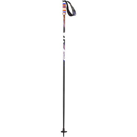 Ski Complement your twin-tipped planks and tall tees with a pair of Salomon Brigade Ski Poles. Constructed with burly 16mm aluminum shafts, wide straps, and colorful freestyle foam grips, the Brigade Poles provide the performance you need and have plenty of cool-factor to impress the groms. - $69.95
