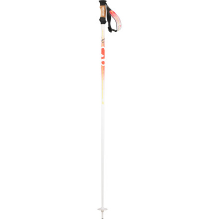 Ski Salomon made the BBR 08W Ski Pole for women who shred powder, rip turns on the corduroy, and go everywhere on the mountain. Wrap your fingers around the smooth cork grip of this all-mountain pole and dig deep into winter. - $48.97