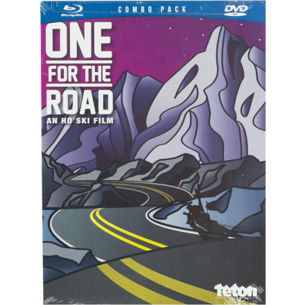 Ski Teton Gravity Research One For The Road DVD/Blu-Ray Combo - $20.97