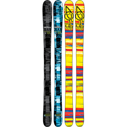 "Ski Lib Tech proudly proclaims that its NAS lineup ""is like skiing but fun."" The Wreckreate reCurve Ski certainly makes good on the promise. Get lit up in the park sliding rails and floating step-ups, then crush some icy groomers with Magne-Traction serrated sidecut. At the end of the day, utilize the reCurve rocker to float your favorite hidden powder stash. - $389.97"
