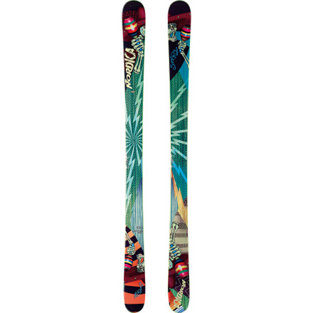Ski Seeking big-mountain and all-mountain nourishment, the adaptable Nordica Soul Rider Ski broadens its horizons with a wide rockered tip that plows through pow and traditional camber underfoot that slices down steeps. And its light and poppy wood core is indefatigable and insatiable. Wander and rip far and wide, for the sake of your soul. - $479.16