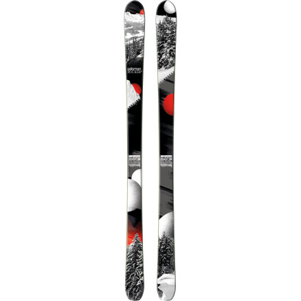 Ski Formerly known as the Lord, the Salomon Rocker2 90 Ski proudly takes up the scepter and rules the mountain with confidence. The All Terrain Rocker and Pulse Pad absorb unwieldy terrain and beat the hardpack into submission while floating you across treacherous seas of powder and crud. The Rocker2 90 is the type of razor-sharp weapon that can single-handedly keep the whole mountain in checkyou'll be glad it's strapped to your feet. - $399.99