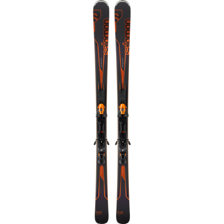 Ski If you drive your skis hard, hop on a pair of Salomon Enduro XT 850 Skis mounted up with the Z12 B90 Bindings. This is an expert-level ski and binding combo that is ready to cut precision turns across the entire mountain. The All Terrain Rocker keeps you on top of the soft stuff, and the race-inspired All-Mountain Powerline dampening system provides unrivaled stability and control. Make sure your jacket is zipped and your helmet is buckled, things are about to get fast. - $674.99