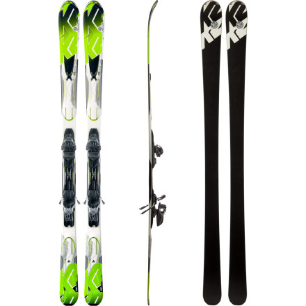 Ski The K2 Photon Ski with Marker M3 10.0 Binding has hard-carving dimensions with a rockered tip that will ignite all-mountain curiosity. Expand your groomed circle, run amok and cause some chaos. - $449.96