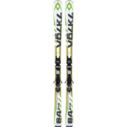 Ski The Volkl RTM 84 Ski with iPT Wideride 12.0 D Binding has a sidecut made for rapid-fire edge-to-edge, construction that purrs at Mach 5, and a terrain-expanding rockered profile. Plus, it comes equipped with the  1/4ber-efficient Wideride binding. Ripping so effortless, there shall be no breaks. - $799.00