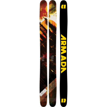 Ski Offered only in 195cm, the Armada AK JJ Ski is a monster. Slightly stiffer than the original JJ but with all the same features, the AK JJ is for those who know that carrying a big stick to the big mountains is the way to get a job done right. - $454.97