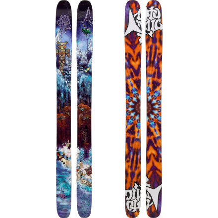 Ski More versatile than you'd think a 123mm-waisted ski would be, the Atomic Bent Chetler Ski is burly enough for the deepest, mankiest snow, but has traditional camber underfoot for gripping hardpack. Because face it: every day won't be a powder day. - $419.99