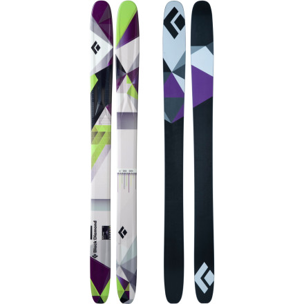 Ski Designed to fill the void between Black Diamond's hard-charging Zealot and powder-specific Megawatt Skis, the all-new Black Diamond AMPerage Ski is a slarvy big-mountain plank that truly knows no bounds. Featuring a generous amount of rocker in its tip and tail, a slightly cambered underfoot, and a playful core with plenty of pop, this nimble hybrid shines on big-mountain lines, through trees, and, of course, in powder. - $344.50