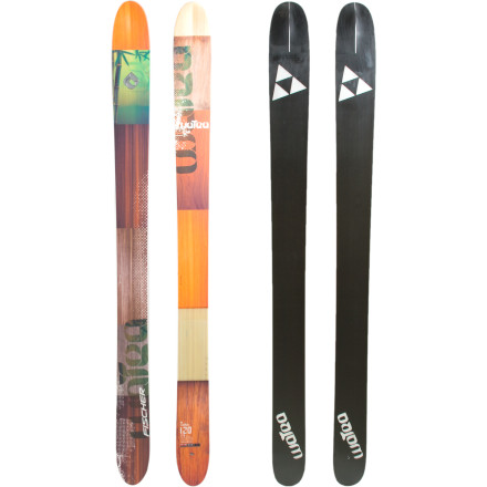 Ski Fischer stacked the backcountry-focused Watea 120 Ski with rocker profile for float, a wood core for a lively feel, and a unique tip and tail shape that mows down on the deepest days faster than you can point yourself at something steep. From choppy chunder under the tram to blower three-percent beyond the gates, the Watea gives you a stable platform to arc huge, fast turns and send just about anything in your path. - $351.00