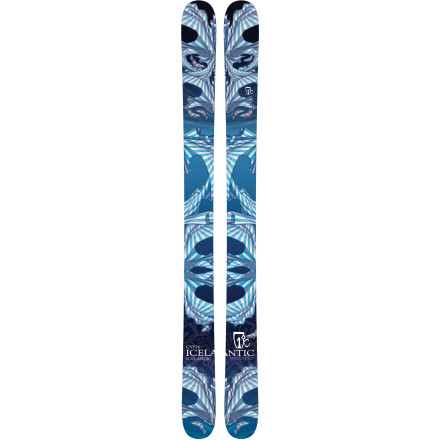 Ski Get your caravan packed. With the Icelantic Gypsy Ski, you're going to have to spend the season on the road storm-chasing just to get your fix. The Gypsy's fat dimensions, soft flex, and reverse camber are specifically designed for playful surfing in the fluff while the generous sidecut allows you to rip the hardpack after the goods have all been gobbled at the end of the day. Your friends might call you a thieving gypsy after plundering more than your share of powder stashes, but that's ok. Remember: no friends on powder days. - $524.27
