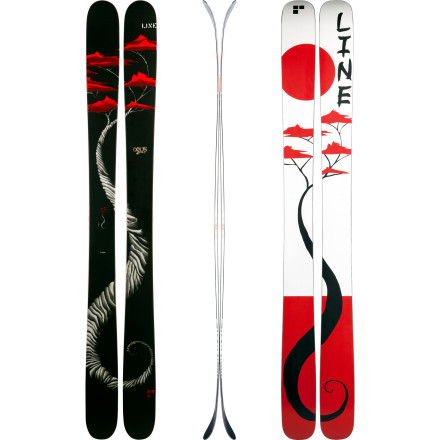 Ski Like the crescendo of a symphonic composition, the Line Mr. Pollard's Opus Ski harmonizes ski design and art to create what could be the most versatile freestyle powder ski on planet Earth. This is professional skier Eric Pollard's masterwork and, as such, he designed it with early rise and early taper to keep you riding on a high note and gave it a symmetric-flex maple core to deliver a smooth, even tempo. Slide, slash, surf, and march down the mountain to your own beat, because that's exactly what Mr.Pollard had in mind when he opened the curtains to this visionary ride. - $524.96
