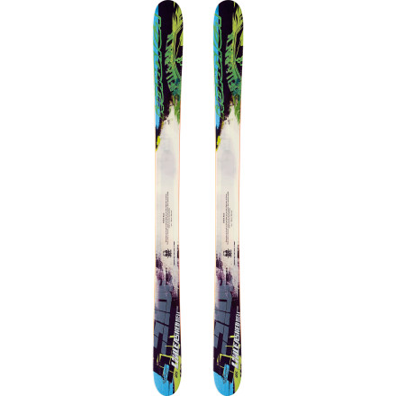 Ski Big storms may be an inconvenience to tourists, but not to you and the Nordica Unleash Hell Ski. While vacationers hunker down indoors, you're floating in and out of the sidecountry gates at speeds far too fast to follow. The ski's modest camber lets you mach to your stashes without pesky plankers spooning your tracks, so you're the first to smear giant turns down the bowls on this fat, fast, and floaty powder stick. - $599.21