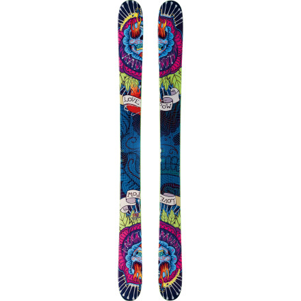 Ski Point the Nordica Radict Ski towards your favorite backcountry hit or straightline and revel in its smooth-flexing ride. A 127mm waist inhales deep stashes and soaks up big hits, while a bit of camber underfoot and a progressive sidecut  give you precise control to carve trenches back to the woods after slaying an epic big-mountain line. Plus, you'll dig its high-rise rockered tip and tail, which lets you gobble up pow at record-breaking speed. - $599.21