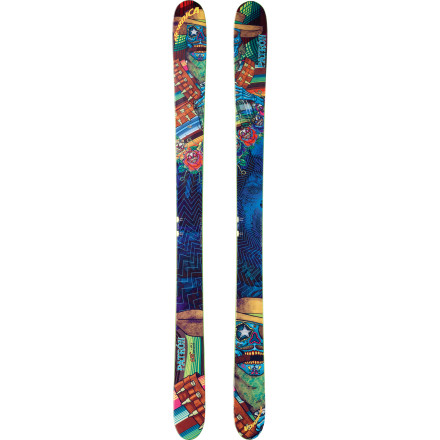 Ski Allow us to bestow upon you the riches of the big-mountain Nordica Patron Ski. Let the rockered tip and tail float you above deep pow, land your meat-hucks, and arc into skinny chutes. The traditional camber will see you through tight trees and bulletproof hardpack with grip and boundless energy. All this, in a versatile, lightweight stick with killer graphics, just for you. - $561.71