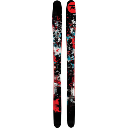 Ski With Titanal and wood at its core and rocker at its tip and tail, the Super 7 Ski was crafted so you can ride from big, burly drops and float effortlessly through the deepest powder. Rossignol didn't leave you hanging when it comes to the hardpack though, because low, traditional camber underfoot and an extended sidecut provide you with all the help you need to dig your edges deep. The Super's careful balance of power and playfulness makes it ideal for intermediate-advanced and elite skiers with an eye for big mountains, twenty-inch storm days, and natural airs that lie beyond the ropes. - $425.00