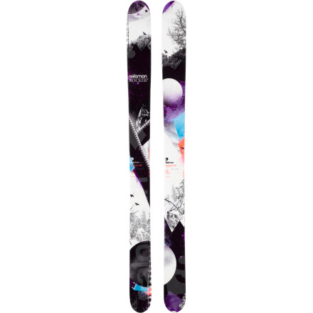Ski You believe the best powder days are for both business and pleasure; the Salomon Rocker2 122 is an extension of the same school of thought. The subtle Twin Rocker and Full Woodcore make this fat ski super playful and responsive so you can tackle deep powder fields and natural features with clean, fluid lines. - $449.99