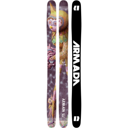 Ski The Armada VJJ Ski is without doubt the preeminent rockered powder ski of choice for women. When the snow gods hear your prayers, you can grab this plank and float the heavenly deep. If your prayers fall on deaf ears, the VJJ will gladly beat the hardpack into submission as well. This ski is the weapon of choice for the ladies looking to testify on not only the biggest of powder days, but on any day the lift runs. - $438.72