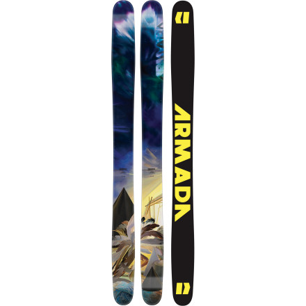 Ski The Armada Women's TSTw Ski is an all-mountain ski for the times. There's rocker at the tip for float, traditional camber underfoot for stability and control, and a light-but-strong chassis that lends this ski both power and a consistent flex. You can glide through deep days, drive hard through choppy day-after conditions, and lay trenches in groomers as needed. This ski comes as close to balanced perfection as anything that we've seenand it's just for the ladies. - $422.47