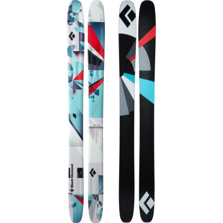 Ski It's hard to deny the buzz surrounding the Black Diamond Women's Element Ski. Brought to you by the same twisted minds who crafted its brother in crime, the Men's AMPerage, the Element features a reworked, women-specific flex pattern for more responsive turn initiation. A generous amount of rocker in its tip and tail and a slightly cambered underfoot means that nimble hybrid really shines on big-mountain lines, through trees, and, of course, in powder. - $378.95