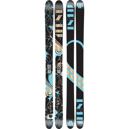 Ski Designed to hold up to aggressive skiing in all types of terrain, the 4FRNT Women's Aretha Ski gives you a rush of adrenaline and butterflies in your stomach with its women-specific construction and top-notch performance. This tough but nimble ski machs down fresh cords, slashes pow turns in back bowls, and billy-goats down steep, techy terrain without even a flinch of hesitation. - $389.99