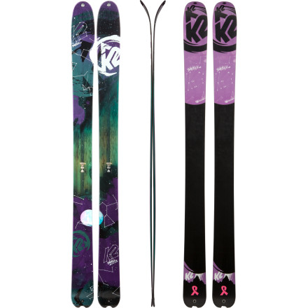 Ski The K2 Women's SideKick Ski lives to tour the backcountry and make effortless turns through untracked sidecountry trees. This backcountry slayer comes equipped with an All-Terrain Rocker profile, 108mm waist, and solid Hybritech sidewall construction so you're able to straight-line past your pals as you lay claim to first tracks under the chair or outside the gates. Plus, thanks to its lightweight core, you're not completely spent when you reach the peak. - $524.96