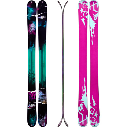 Ski You know you're in trouble when you opt for a stellar morning of skiing with the K2 Women's MissBehaved Skis rather than a morning of picking up your partner from the airport. This hard-charging twintip's all-terrain rockered profile and traditional camber underfoot mix it up both on and off the trail, and the combination of that and the more-than-stellar ski conditions are just ... unavoidable. Hopefully the love-of-your-life will understand. - $449.96