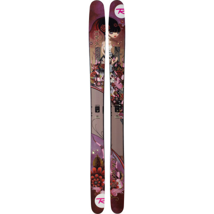 Ski Big mountains and deep drifts require a big, stable plank, and if there's one thing the Rossignol Women's S7 Ski knows, it's how to go big. With a mammoth footprint, a rockered tip and tail, and a traditional camber underfoot, this bad girl is ready to devour virtually any terrain you point it towards. - $349.98
