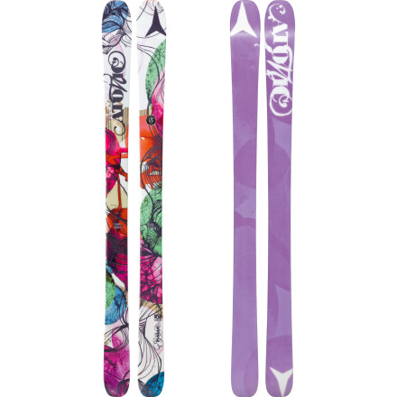Ski Hailing from Atomic's all-mountain Vantage line, the Elysian Ski is for ambitious women looking to leave their mark all over the mountain. Due to the Elysian's All Mountain Rocker and Step Down Sidewall reinforced with a Carbon Backbone, no area of the mountain is safe. Slash down light powder, ferret out tree-lines, and sculpt the hardpack after all the fresh flakes have been consumed. The Elysian is your chisel, now go make something beautiful. - $299.99
