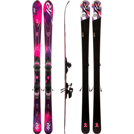 Ski Take the K2 Women's SuperFree Ski with Marker ER3 10.0 Binding out for a spin on hardpack groomers, and then venture into the soft stuff in the trees. The SuperFree's All-Terrain Rocker profile, 75mm waist, and forgiving feel builds confidence and helps you perfect your skills. K2 paired this SuperModel-series ski with the Marker ER3 10.0 Binding to maintain a smooth flex while you shred. - $562.46