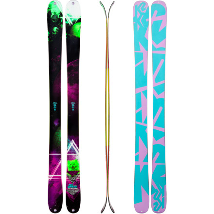 Ski The moment you click into the K2 Women's MissDemeanor Ski, you head straight for the freshly groomed terrain park. This dependable, stable ski features an All-Terrain Rocker profile, a 90mm waist, and an ABSorb TwinTech sidewall that enables you to stick harsh park landings with ease. Its Bi-Directional taper allows you to ride and land switch, while the MissDemeanor's Bioflex 2 core offers you low swing weight so you can spin yourself silly both in and out of the park. - $374.96