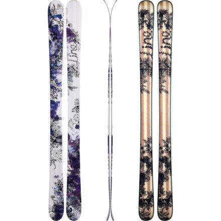 Ski Go on mountain-wide tour with the Line Celebrity 85 Ski. With easy-turning dimensions and early-rise tip and tail, its versatile enough to accompany you to the hottest spots on the hill, and sophisticated graphics ensure you arrive in style. A performance this stellar should be seen. - $337.46