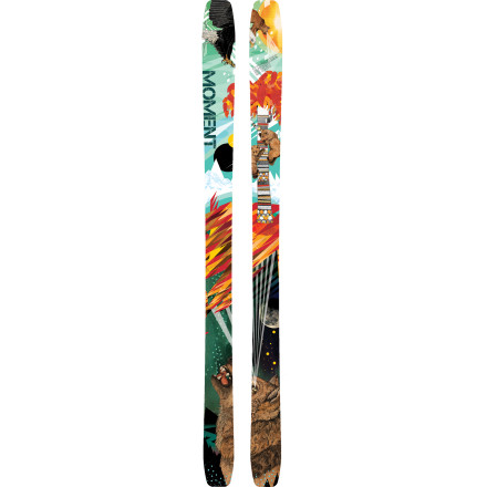 Ski Moment took its Tahoe, tailored it specifically for the ladies, and came up with the Sierra Skievery bit as versatile and spunky as her older Tahoe brother. This medium-fat, medium-radius ski deals out maximum mountain domination in every set of snow conditions. The traditional camber and tail rocket through turns and bumps with styled precision while the rockered tip stomps through crud and slop. Regardless of what mountain range you frequent, the Sierra will feel right at home. - $405.97