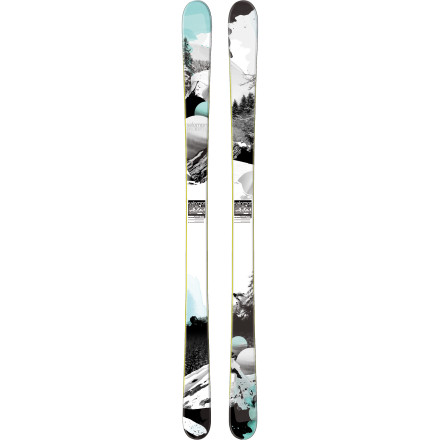 Ski Whether you're on a backcountry mission or just looking to have a stellar day at the resort, turn to the Salomon Women's Rockette 92 Ski for your snow-slashing pleasure. Equipped with a Twin Rockered profile and 91mm waist, this playful, lightweight wood-core ski lives for anything from tight tree lines to wide-open cruiser runs. And if you're all about some air, the Rockette's sandwich construction has no problem taking a spin in the park and pipe or off of natural terrain features. - $439.99